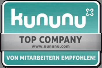 Kununu Top Company Siegel