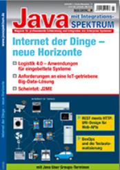 Cover der JavaSpektrum