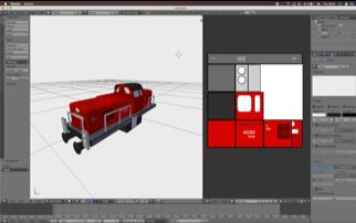Arbeitsoberfläche von DUSS VR