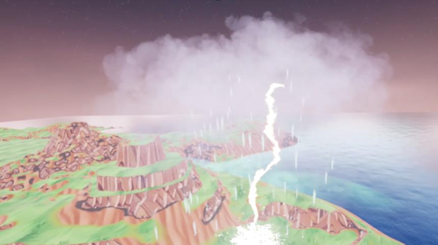 Weather VR - Visualisierung einer Gewitterwolke