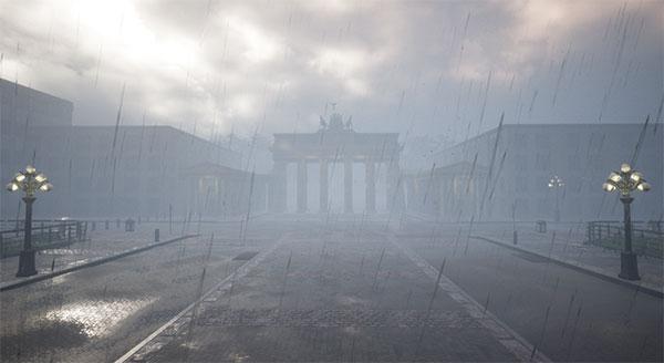 DWD VR Regen in Berlin