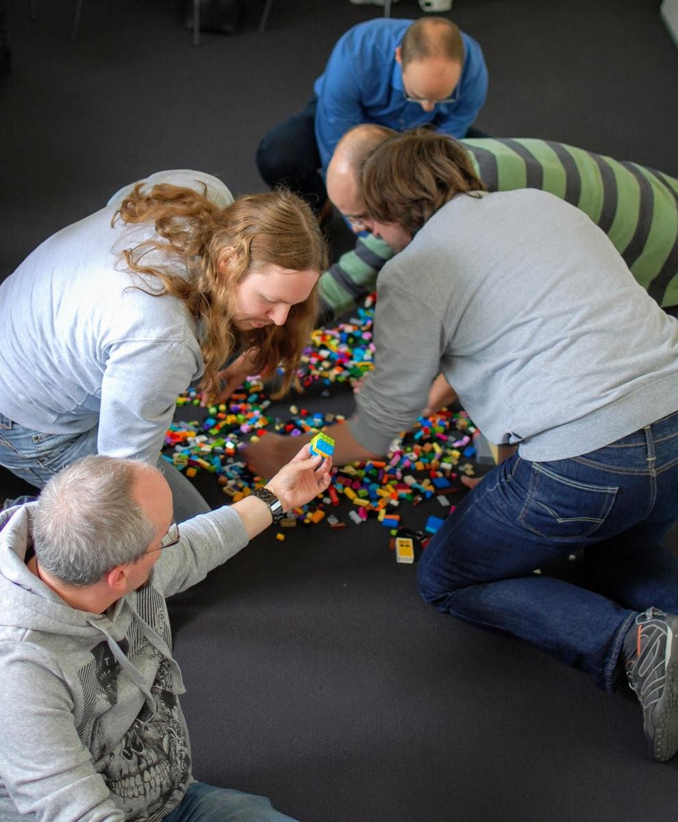 Planen mit Lego
