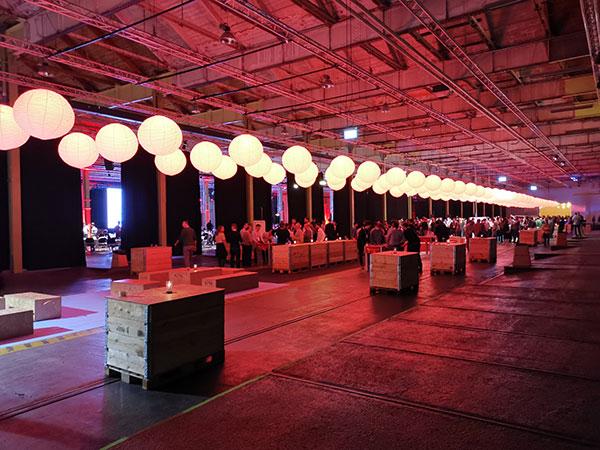 Banquet at Lokomotivværksted bei der RecSys 2019