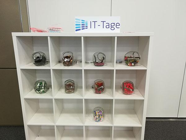 Süßigkeitenstand auf den IT-Tagen