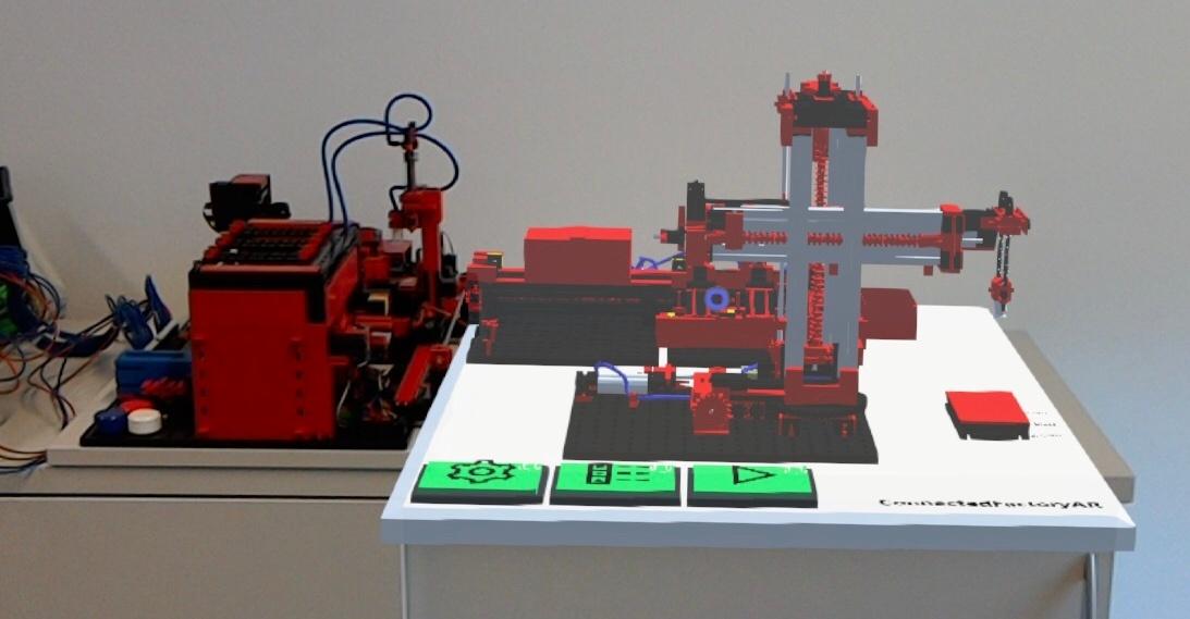 Setup der IoT Anwendung ConnectedFactoryAR