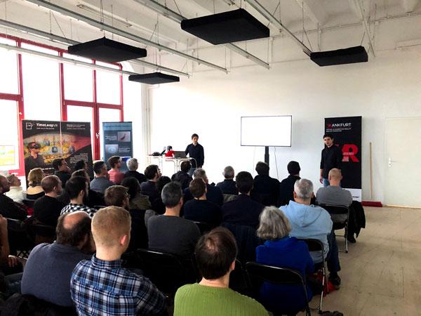 Vortrag ConnectedFactoryAR auf VR & AR Meetup