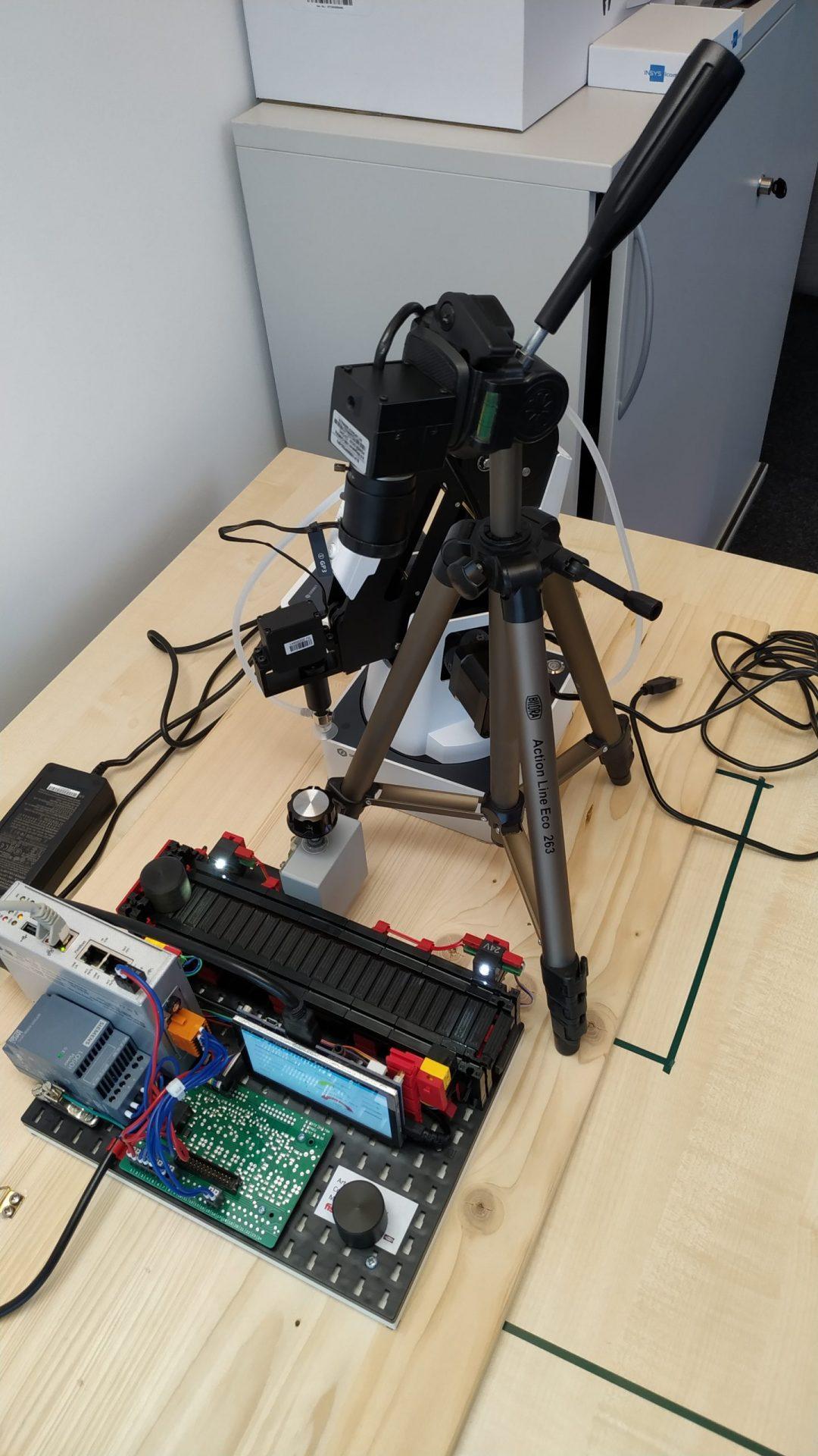 Prototyp zur Beobachtung eines Fließband Modells