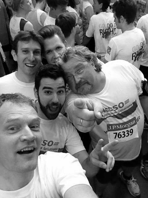 Selfie bei der JPM Challenge
