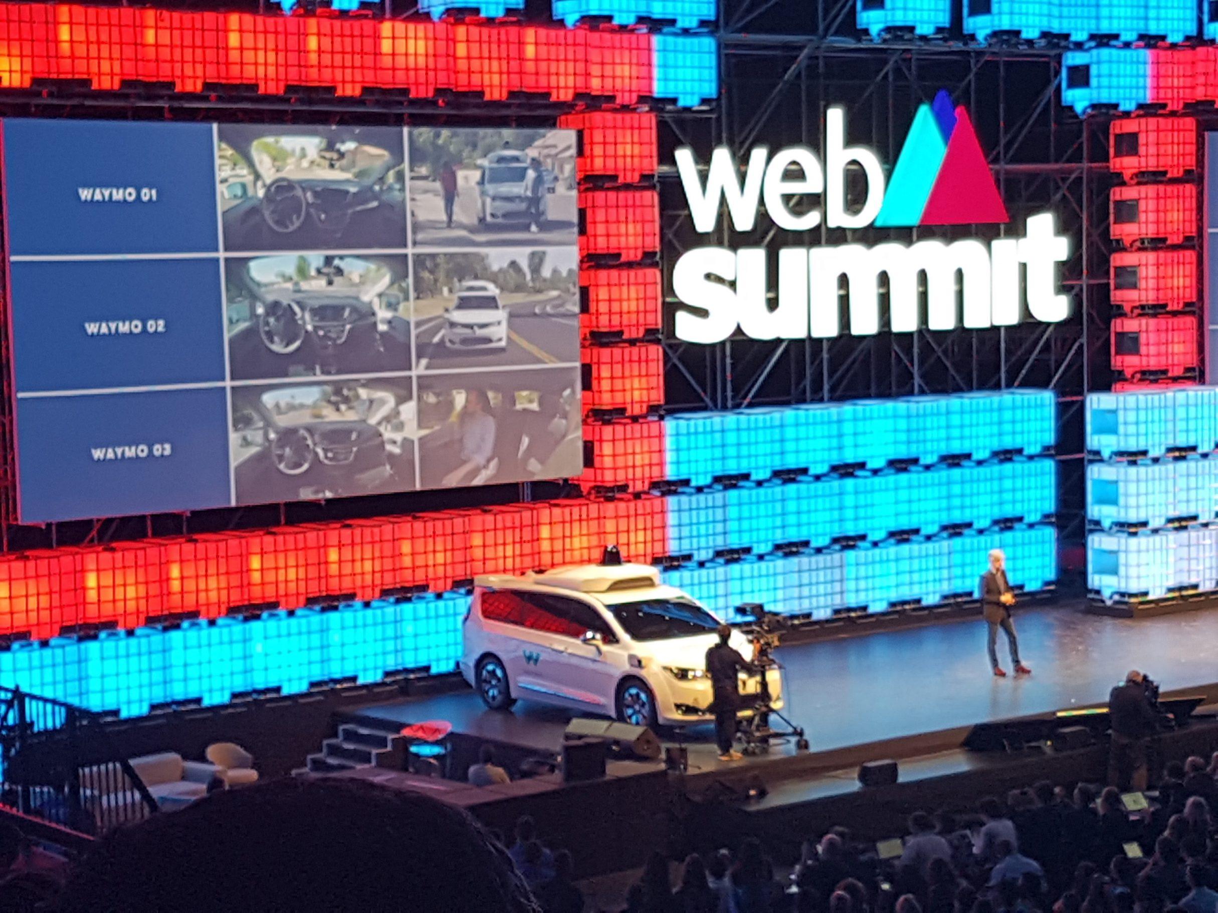 Web Summit 2017 - Waymo Vortrag